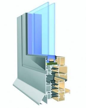 Aluminium-Fenster Aliplast Imperial