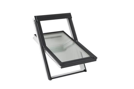 """Velux Dachfenster – dreifach Verglasung """"Energie Technology"""" GLU 0061 mit Eindeckrahmen"""