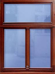 BAS-Fenster aus Holz
