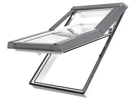 """Kunststoff (PVC)  """"SKYLIGHT"""" Dachfenster mit Eindeckrahmen"""