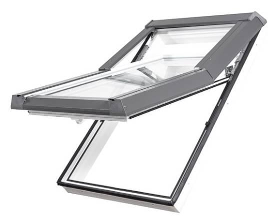 """Kunststoff (PVC) """"SKYLIGHT PREMIUM"""" Dachfenster mit Eindeckrahmen"""