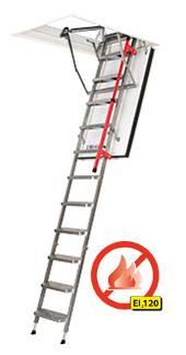 FAKRO Feuerhemmende Bodentreppe LMF 120 aus Metall