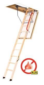 FAKRO Feuerhemmende Bodentreppe LWF 60 aus Holz