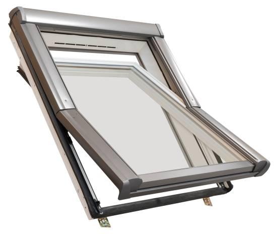 Dachdecker-Favorit Roto Dachfenster aus Kunststoff mit Eindeckrahmen