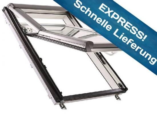 Handwerk - Roto Designo R75 K Hoch-Schwingfenster aus Kunststoff mit Eindeckrahmen