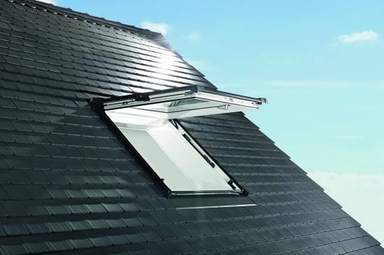 Roto Designo R89GK WD AL - 3-fach Verglasung Kunststoff Klapp-Schwingfenster mit Wärmedämmung