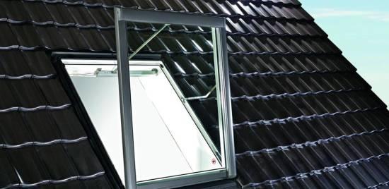 Roto Rauchabzugsfenster WRA Designo R58 K WD aus Kunststoff
