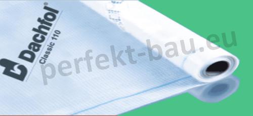 DACHFOL 110 g Spannbahn Unterspannbahnen 75m² (0,56€/m²)