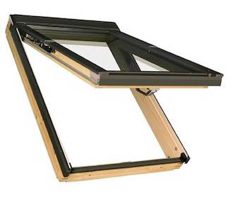 FAKRO Klapp-Schwingfenster Holz FPP-V U3 mit Eindeckrahmen