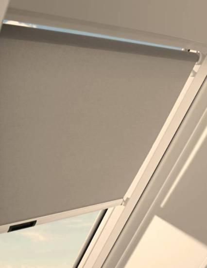 """Sparpaket """"Dimmer"""" RotoDachdecker-FavoritDachfenster aus Kunststoff mit Eindeckrahmeninkl. Sonnenschutzrollo ZRS"""