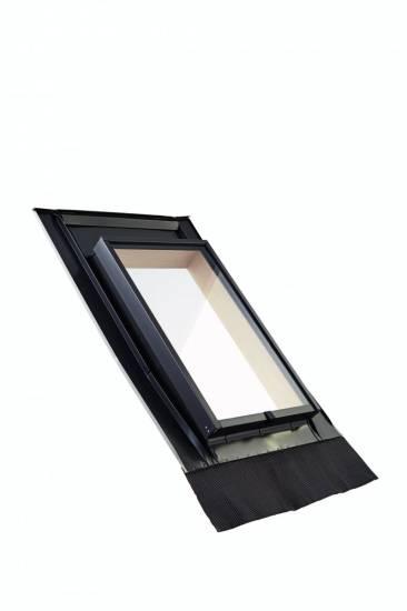 Roto Dachausstiegsfenster WDL R27 H für Kaltdach inklusive Eindeckrahmen