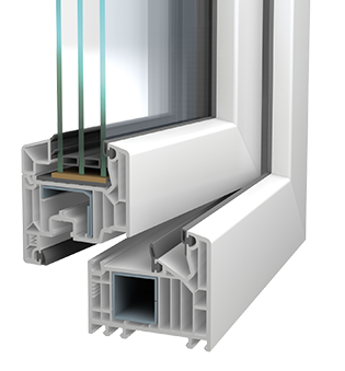 VEKA - Kunststofffenster Profil Softline 82MD