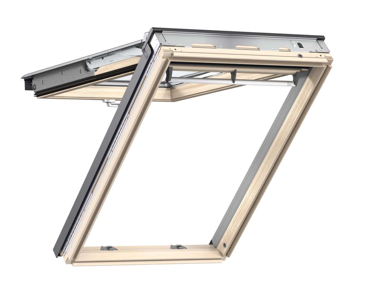 Velux Gpl Klapp Schwingfenster Aus Holz Von Perfekt Bau Eu