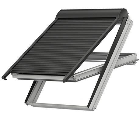 velux elektro rolladen sml. Black Bedroom Furniture Sets. Home Design Ideas