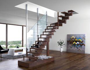 Designer Treppen rintal treppen design aus italien bei perfekt bau