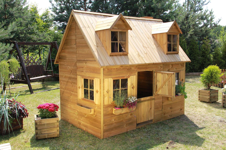 Baumotte Spielhaus Holz Kinderspielhaus Rotkappchen Spielhaus