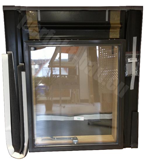 kronmat optilook dachausstiegsfenster f r kaltdach. Black Bedroom Furniture Sets. Home Design Ideas