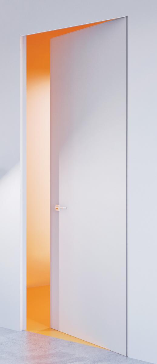Rahmenloses Türsystem Dmbset Weiss Zimmertür Inkl Zarge