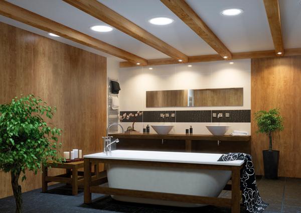 tageslicht spot srt mit starrem rohr. Black Bedroom Furniture Sets. Home Design Ideas