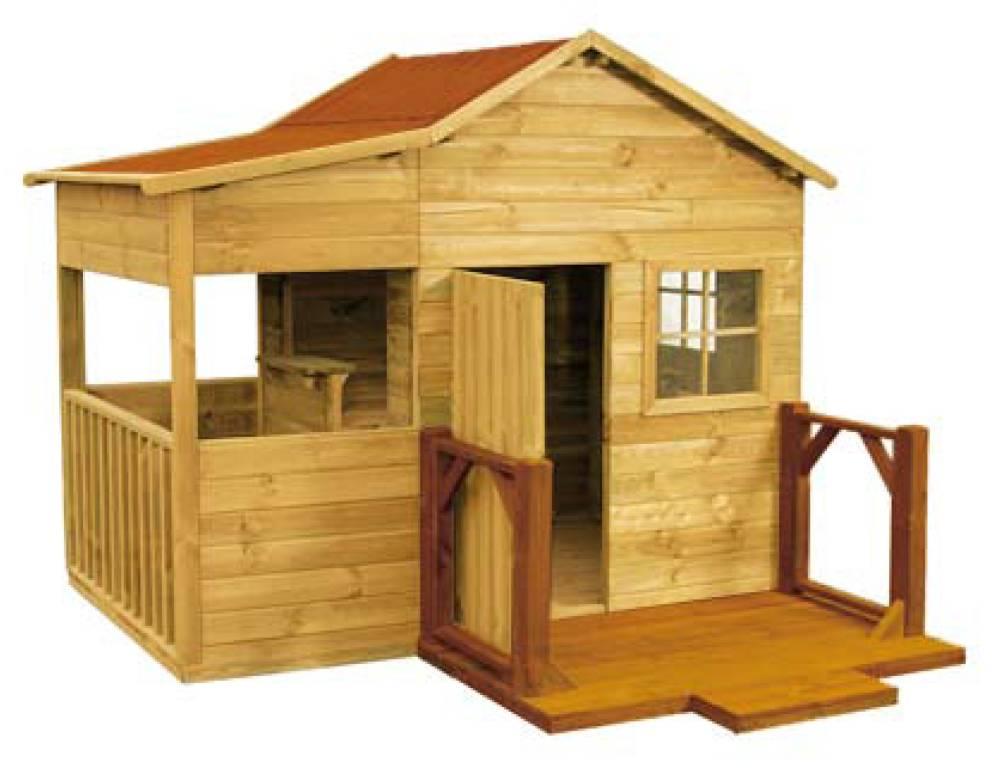 baumotte spielhaus holz kinderspielhaus dornr chen. Black Bedroom Furniture Sets. Home Design Ideas