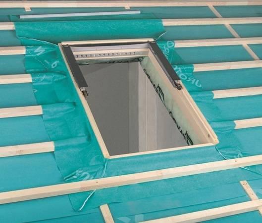 Dachfenster von Fakro Montageset für Dachfenster SunSky