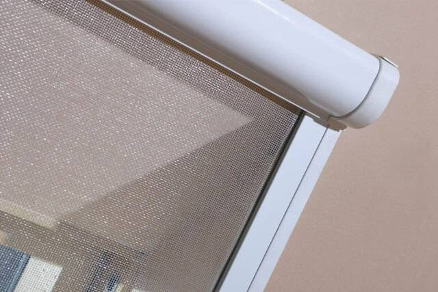Dachfenster von Fakro FAKRO Insektenschutzrollo AMS