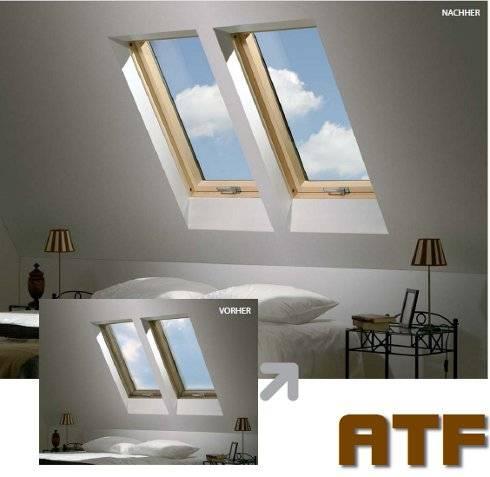 Dachfenster von Fakro FAKRO Austauschfenster für alte Velux-Dachfenster von 1991-2000