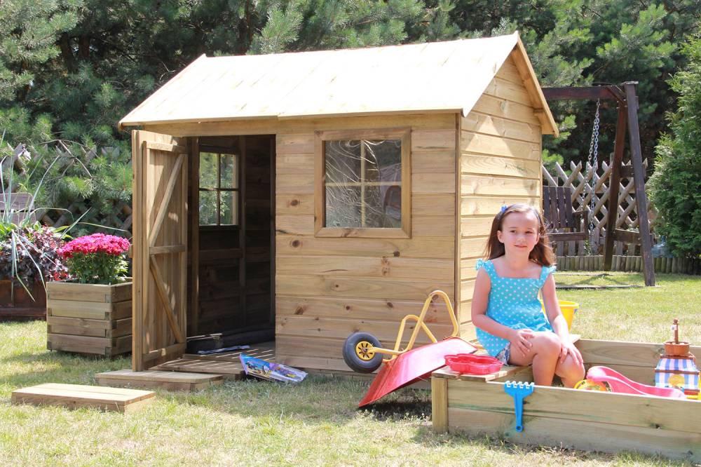 Baumotte Spielhaus Holz - Kinderspielhaus ?raphael?-spielhaus Holz ... Spielhaus Im Garten Kinderspielhaus Holz