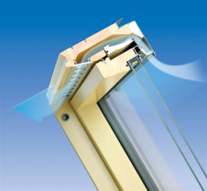 FAKRO Klapp-Schwing FPU-V U5 preSelect 0,97 W/m2K mit EDR
