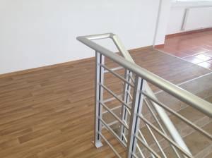 Geländer-Set PAB 90 - für seitliche Montage Starterset aus Aluminium für Treppen und Balkon (Innen und Außen)