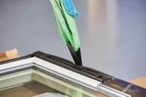 Roto Designo QuadroR69G K WD Schwingfenstr aus Kunststoff mit Wärmedämmung und Anti-Tau-Effekt