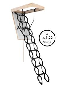 Oman Bodentreppe - Scherentreppe Flex Termo