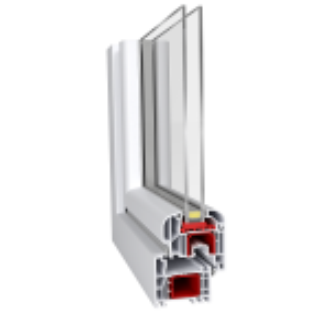Das Kunststofffenster Aluplast energeto mit 85mm Bautiefe