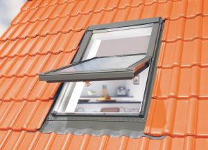 """Optilight """"TLP"""" Kunststoffschwingfenster von KRONMAT mit Eindeckrahmen"""