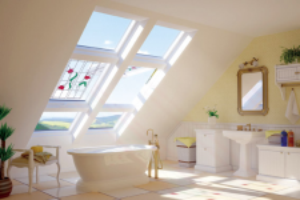 FAKRO Klapp-Schwingfenster PPP-V U5 preSelect® aus Kunststoff