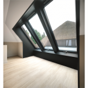 FAKRO Kunststoff-Hochschwingfenster PYP-V U3 proSky mit Eindeckrahmen