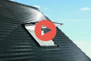 Roto Designo Quadro R88C K WD Klapp- Schwingfenster aus Kunststoff mit Eindeckrahmen