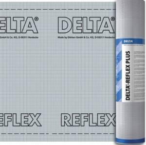 Dörken Dampfsperre Delta-Fol Reflex Plus 75 m² (2,39€/m²)