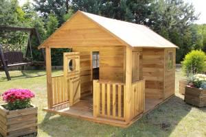 "Baumotte Spielhaus Holz - Kinderspielhaus ""Leonardo"""